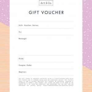 Lumiere Art & Co. Online Gift Vouchers